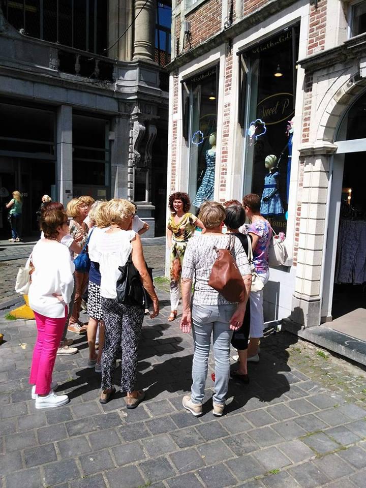 Inspirerende modewandeling in Gent